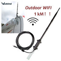 Wholesale Outdoor Ethernet - 1000M High Power Outdoor WiFi Antenna USB Adapter Cellular Signal Amplifier Omni-directional Wireless Network Card Receiver
