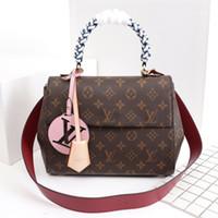 Wholesale womens luxury fashion purses for sale - Designer handbags luxury brand lady Famose Brand Womens Bag Luxury Leather Handbags Ladies Clutch Designer Bag SacWomen tote Purse