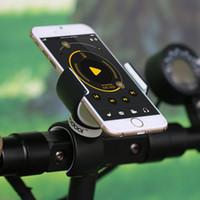 универсальное крепление для фар оптовых-360 градусов вращения универсальный велосипед держатель фар стойки MTB дорожный велосипед Велоспорт велосипед телефон кронштейн клип
