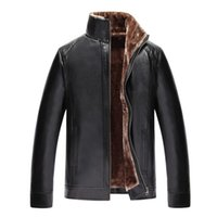 Wholesale original leather jackets - Wholesale- 2016 new superstar fashion leather jacket top quality men's Original Free Shipping