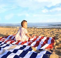 Wholesale microfiber sports towel camping - Striped Microfiber Towels Quick Drying Towel for Home Beach Pool Bath Sports and Outdoor Camping Travel DDA119