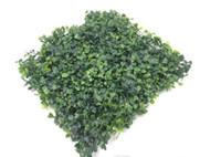 ingrosso tappeto erboso artificiale-prato di erba sintetica di plastica artificiale del tappeto erboso 25 * 25cm trasporto libero
