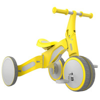 dreirad fahrrad kind großhandel-Xiaomi 700Kids TF1 Kind Deformable Balance Auto Dreirad Fahrt und Slip Dual Mode Bike Walk Roller
