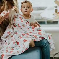 tierbaby matten großhandel-Neugeborene Babydecke INS heißer Verkauf Baumwolle Tiere Print Kinderwagen Cover Baby Fotografie Wrap Jungen Mädchen Spielmatte Unisex Decken erhalten