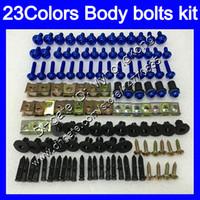 Wholesale Honda Rr Plastics - Fairing bolts full screw kit For HONDA VFR400RR 94 95 96 97 98 NC35 VFR400 RR 1994 1995 1996 97 1998 Body Nuts screws nut bolt kit 23Colors