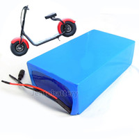 Wholesale 48v scooter batteries for sale - Group buy to EU US high quality PF v ah li ion electric scooter battery for W w w motor A BMS Charger