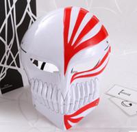 accessoire de personnage d'anime achat en gros de-Hommes Femmes Halloween Masque Complet Japonais Anime Caractère Cosplay Costume Accessoires Masque Mystérieux Masquerade Party Masque