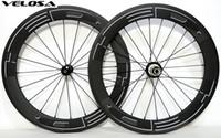 ingrosso ruote in carbonio pieghevole-Ruota in carbonio da 20 pollici, cerchi in carbonio HED super sprint 50 aero 451 in carbonio, ruota da bici pieghevole da 50mm