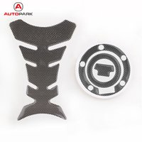 Wholesale Tank Cap Yamaha - Professional New Carbon-Look Fuel Tank Decal Pad + Gas Cap Pad Cover Sticker For Yamaha YZF R1 R6