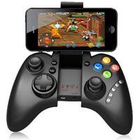manejar consolas de juegos al por mayor-IPEGA PG-9021 Gamepad Classic Joystick Mango Inalámbrico Bluetooth Android iOS Consolas de Juego Tablet PC TV BOX Envío Gratis