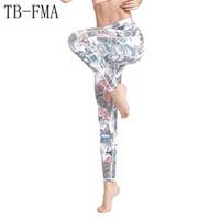 Wholesale best yoga pants resale online - Best Yoga Leggings Women New Sport Pants Fitness Compression Sports Apparel Tights Yoga Sportswear Gym Trousers