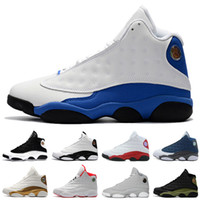 Wholesale White Plush Cat - 13 13s mens basketball shoes Hyper Royal Love Respect Bordeaux Flints Chicago DMP 3M History of Flight Olive Ivory Black Cat sports sneakers