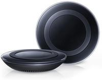 pad de recharge sans fil s6 achat en gros de-Universal Qi chargeur sans fil Pad Power charge rapide pour S6 S6 bord S7 S7 bord iPhone 8 X 7 avec boîte de vente au détail peut vente chaude