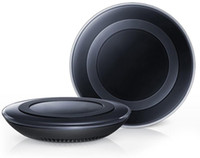 Wholesale qi charger for sale for sale – best Universal Qi Wireless Charger Pad Power Fast Charging for S6 S6 Edge S7 S7 Edge iPhone X with Retail Box can hot sale