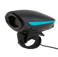 yüksek sesli bisiklet çanı toptan satış-Bisiklet Çan Su Geçirmez Loud Bisiklet Elektrikli Boynuz 140 db Bisiklet Gidon Yüzük Güçlü Loud Alarm Bell Ses Bisiklet Boynuz Emniyet