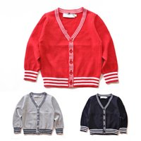 Fashion Brands Children Polos Sweater Kids Sweater Baby Tops Clothing Girls Outerwear Sweaters Boys Polos Sweaters 1412