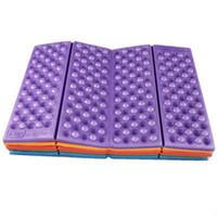 Wholesale Camping Tarps - Foldable Folding Outdoor Camping Mat Seat Moisture proof XPE Cushion Portable Waterproof Foam Pads Yoga Chair Picnic Beach Pad