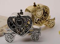 gold hochzeit wagen großhandel-Gold Silber Wagen Candy-Box Geschenk Süßigkeiten Boxen Geburtstag Party Hochzeit Gefälligkeiten Dekoration Weihnachten Dusche Geschenk