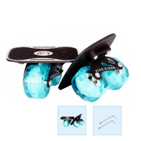 Wholesale drift boards resale online - free line skate drift board upgraded version flashing wheel