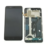 Wholesale blade lcd for sale - Group buy LCD Display Digitizer Assembly For ZTE Blade Z max Z982 MetroPCS With Frame Black