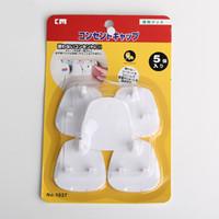 cerraduras uk al por mayor-Seguridad de los bebés Prevención de descargas eléctricas Norma británica BS BS Protección de la toma de corriente contra la cubierta Cerraduras de seguridad para niños