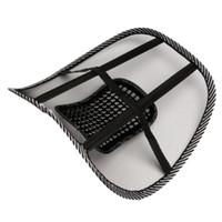 cadeira de escritório travesseiro de volta venda por atacado-2018 Novo Assento Do Carro Cadeira de Escritório Sofá Cool Massage Almofada Lombar Cinta Travesseiro Lombar Almofada Acessórios Do Carro
