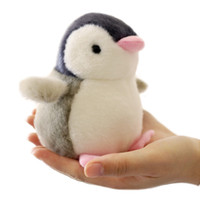 Wholesale wedding stuffed animals - 12cm cm cm Penguin Plush Toy Key Chain Penguin Stuffed Doll Gift Wedding Party Plush Animal Toy Car Decoration LA045