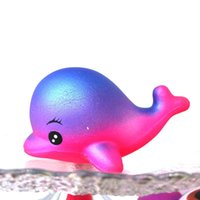 Wholesale safety toy for sale - New Pattern Slow Rising Squishies Safety And Environmental Protection Scented Simulation Toys Squishy Dolphin Shape Decompression Toy fd W