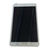 Wholesale galaxy tab white - NEW LCD Display Touch Screen For Samsung Galaxy Tab A 7.0 (2016) SM-T280 T280 Wi-Fi Black White With Tempered Glass DHL logistics