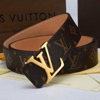 Wholesale cowboy leather belts - Brand belt 2018 hot men fashion high quality luxury designer business waist strap women smooth metal buckle jeans cowboy cintos
