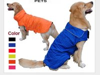 Wholesale Rain Puppy - 2017 Hot Sale Dog Clothes Winter Puppy Pets Waterproof For Small Dogs Medium Large Rain-proof Dog Coats Jackets XS-3XL Dog Apparel