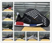 Wholesale camo cheap - 2018 Original NMD_XR1 PK Running Shoes Cheap Sneaker NMD XR1 Primeknit OG PK Zebra Bred Blue Shadow Noise Duck Camo Core Black Fall Olive