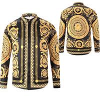 camisas macias da flanela dos homens venda por atacado-Vender como quente Novo 2018 mens Designer de manga comprida Casual Sólida camisa dos homens eua Marca Camisas de moda camisas sociais Oxford Pequeno Cavalo vestido