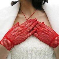 guantes de protección de verano al por mayor-2017 Moda Nueva Malla Malla Guantes Moda Mujeres Guantes de Protección de Verano Encaje Elegante Señora Estilo enemigo mujer