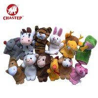 Wholesale zodiac toys figures resale online - Chastep Cartoon Sesame Street Figure Puppet Chinese Zodiac Puppest Small Puppet Soft Plush Toy For Children Kids and Parents