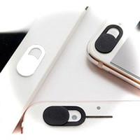 couvertures de sécurité achat en gros de-Couverture de caméra Slide ultra fine pour les ordinateurs portables Mac Macbook Pro Ordinateurs de bureau tout-en-un Tablettes pour smartphones Cache de webcam pour la confidentialité Sécurité
