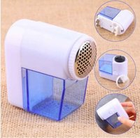 Wholesale Clothes Shaver Lint Remover - Mini Electric Fuzz Cloth Pill Lint Remover Wool Sweater Fabric Shaver Trimmer Clothes Shaver Machine Sweater Fabric Shaver KKA3882