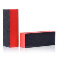 bloques de esponja al por mayor-Nail Art Esponja Espuma Papel de lija Pulido Buffer Bloque Esmalte en gel Puntas francesas Conformación Lijado Pulido Juego de bloques de archivado