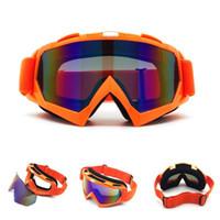 hochwertige augenmaske großhandel-Hohe Qualität Motorrad Brille Augenschutz Kreative Outdoor Sportbrillen Tragbare Paintball Ski Maske Für Herren Frauen 30bd ff