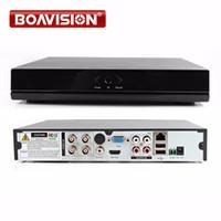 Wholesale Dvr Hdmi Output - 4Ch AHD DVR 1080P 720P  960H CCTV DVR Real time HDMI Output 4Ch Hybrid DVR NVR For 1.0MP 2MP AHD Camera P2P
