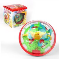 Wholesale intellect toys online - Labyrinth Intelligence Toys Maze Balls D Magic UFO Intellect Ball Toys Early Childhood Children Hand Eye Coordination bx W