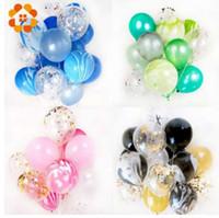 balon ballon toptan satış-20 adet 12 inç Renkli Çok Hava Balonları Mutlu Doğum Günü Partisi Lateks Balon Süslemeleri Düğün Festivali Balon Parti Malzemeleri