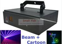 Wholesale Rgb Laser Dmx Ilda - DMX+ILDA+2D Multi Color 1W RGB Beam Animation Laser Light   DJ Lights   Stage Lighting Laser projector Disco Effect Machine