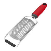 Wholesale cheese cover online - New Cheese Grater Stainless Steel Blade For Cheese Slicer Lemon Zester Grater Chocolate Cheese Graters with Protective Cover