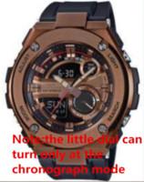 relojes de lujo analógico grande al por mayor-2018 Gran Venta Hombres Calientes de Lujo Relojes Deportivos de Calidad AAA Estilo G Reloj de Choque Hombre Hombre Digital LED Analógico de Doble Pantalla Relojes de pulsera reloj