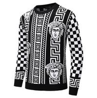 мужской личный оптовых-новая мода личная спортивная куртка спортивная одежда толстовка мужская зимняя мужская свитер роскошный дизайнер свитера бесплатная доставка