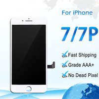 Wholesale full lcd screen phone for sale - Group buy For Phone iPhone plus White black Grade A LCD Display Touch Digitizer Complete Screen with Frame Full Assembly Replacement