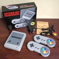 8-битная игровая консоль оптовых-Новый супер классический SFC 8bit mini SNES может хранить 600 игровых приставок ностальгическая игровая приставка бесплатная доставка
