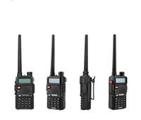 walkie uv5r al por mayor-BaoFeng UV-5R UV5R Walkie Talkie Banda dual 136-174 Mhz 400-520 Mhz Transceptor de radio bidireccional BHF con 1800mAH auricular sin batería (BF-UV5R)