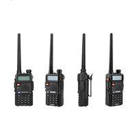 bateria walkie venda por atacado-Walkie Talkie BaoFeng UV-5R UV5R Dual Band 136-174 Mhz 400-520 Mhz Em Dois Sentidos de Rádio Transceiver BHF com 1800 mAH Bateria livre fone de ouvido (BF-UV5R)
